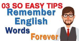 วิธีจดจำคำศัพท์ภาษาอังกฤษอย่างรวดเร็วสำหรับทุกคน